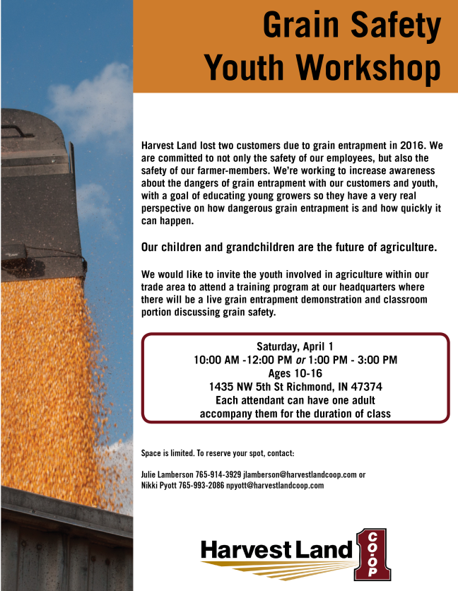 2017 Grain Safety Youth Workshop