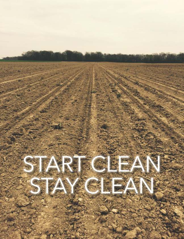 start clean stay clean